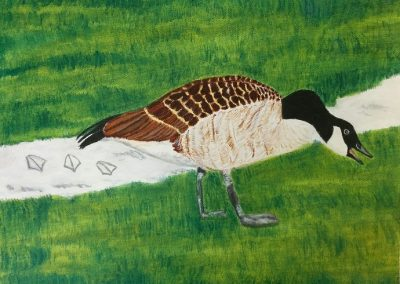 """Entry #22 – """"Winter Goose"""" by artist Graore"""