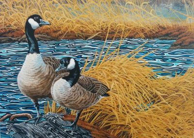 """Entry # 27 – """"Return to the Mill Pond"""" by artist Mitchell"""