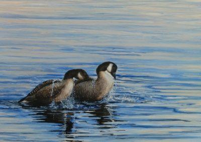 "Entry #38 – ""Morning Swim"" by artist Franks"