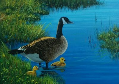 """Entry # 39 – """"Mother Goose"""" by artist Santini"""