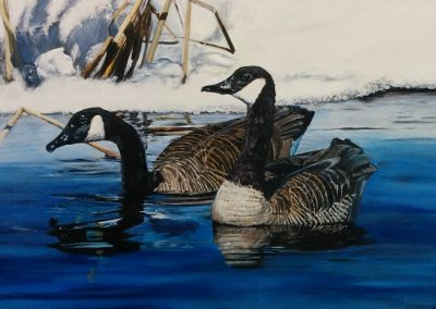 """Entry #42 – """"Canada's Geese"""" by artist Walter"""
