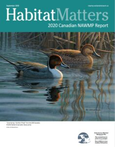 Habitat Matters Cover Page
