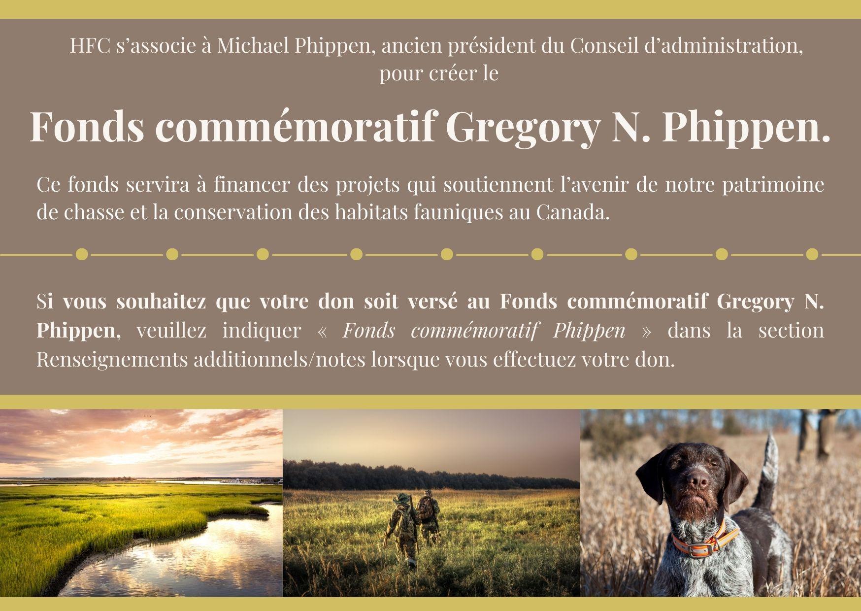 Fonds commémoratif Gregory N. Phippen.